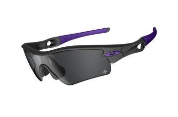 Oakley OIH Radar Path Carbon Frame w/ Black Iridium Lenses Sunglasses 24-275
