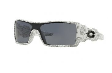 82975299a89d6 denmark oakley oil rig sunglasses 03 461 28 white w text print paint 0a89f  62fc1
