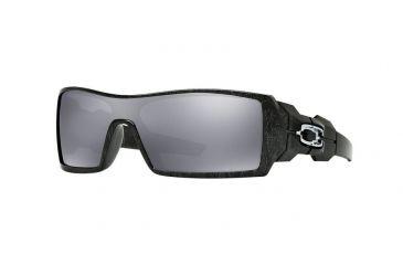 Oakley Oil Rig Sunglasses 24-058-28 - Pol Blk   Silver Ghost Txt 850a114859