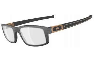 Oakley Panel Eyeglasses - Grey Bronze Frame OX3153-0553