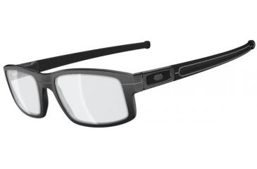 Oakley Panel Eyeglasses, Distressed Grey, 58.7 mm OX3153-0255