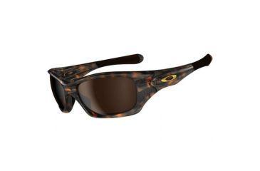 Oakley Pit Bull Sunglasses - Brown Tortoise Frame w/ Dark Bronze Lenses OO9127-01