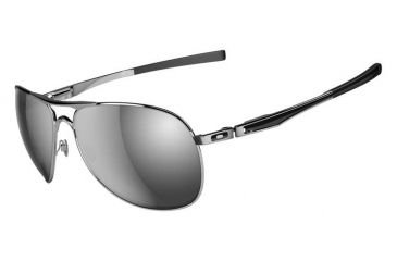 Oakley Plaintiff Sunglasses, Polished Chrome Frame, Chrome Irid Lens OO4057-03