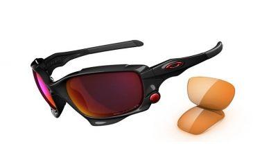 Oakley Jawbone Progressive Prescription Sunglasses - Polished Black Frame 04-203