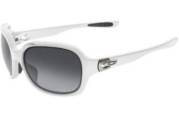 Oakley Pulse Sunglasses, Grey Gradient Polarized Lens, Arctic Frame OO9198-15