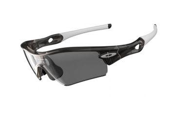 Oakley Radar Path Grey Smoke Frame w/Clear Black Iridium Photochromic Lenses Sunglasses 26-213