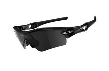 Oakley Radar Path Polished Black Frame w/ Grey Lenses Sunglasses 09-670