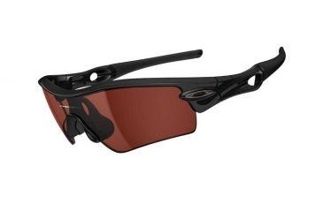 Oakley Radar Path Mens Sunglasses Polished Black Frame, VR28 Black Iridium Lens 09-761