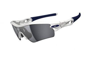 Oakley Radar Path Mens Sunglasses Polished White Frame, Black Iridium Lens 09-758