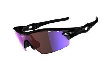 Oakley Radar Pitch Polished Black Frame w/ G30 Vented Lenses Men's Sunglasses 09-684