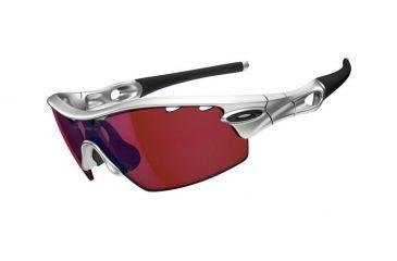 Oakley Radar Pitch Mens Sunglasses Silver Frame, G30 Iridium Lens 09-763