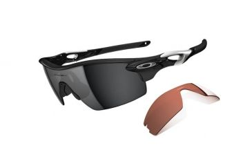1412f8f0df64 ... discount code for oakley radarlock pitch mens sunglasses polished black  frame black iridium and vr28 lens