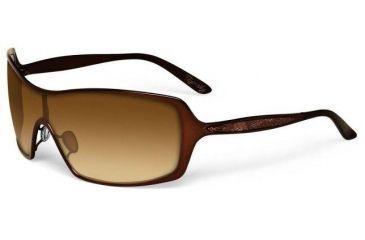 00e93ca1657e14 Oakley Remedy Brunette Frame w  Dark Brown Gradient Lenses Sunglasses OO4053 -02