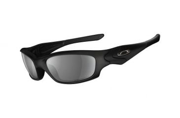 fd85a4f0bab7 Oakley Straight Jacket Sunglasses, Asian Fit, Matte Blk Frm, Grey Lens,  Polar