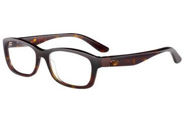 Oakley Convey Single Vision Rx Eyeglasses, Size 51 - Tortoise Pearl Frame OX1059-0351