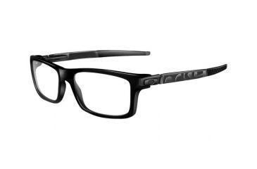 Oakley Currency Single Vision Rx Eyeglasses, Size 54 - Satin Black Frame OX8026-0154