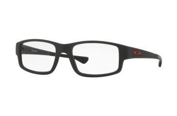 da6eab7336 Oakley TRAILDROP OX8104 Single Vision Prescription Eyeglasses 810402-52 -  Satin Black Ink Frame