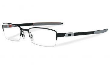 4fe32b9d7bf Oakley Tumbleweed 0.5 52mm Polished Black Progressive Rx Eyeglasses  OX3142-0152