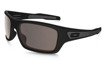 fdffaf148934 Oakley Turbine Sunglasses Matte Black Frame, Warm Grey Lens-OO9263-01
