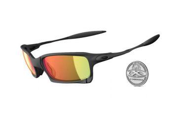 Oakley X-Squared X-Metal Frame w/ Ruby Iridium Lenses Men's Prescription Sunglasses OO6011-03