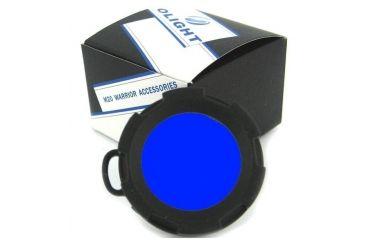 Olight Blue Filter for M20 Series LED Flashlights, Blue OLIGHT-M20-BLUE-FILTER