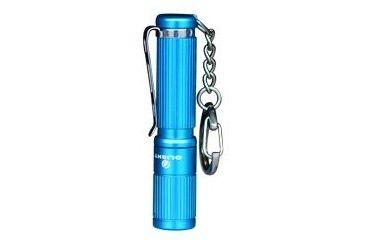Olight i3S LED Flashlight with 80 Lumen CREE XP-G2 LED - Uses 1 x AAA - Blue Body, Black OLIGHT-I3S-BLUE