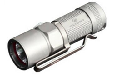 Olight S10 Ti Baton Frosted LED Flashlight 320 Lumens Cree XM-L LED Uses 1 x CR123, Silver S10-FROSTED