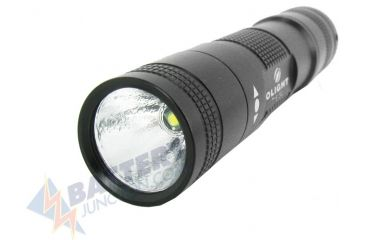 Olight T15 LED Flashlight - with 130 Lumen CREE XP-G S2 LED - Uses 1xAA, Black OLIGHT-T15-T-S2