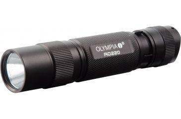 Olympia AD220 High-Performance Flashlight, Black AD220