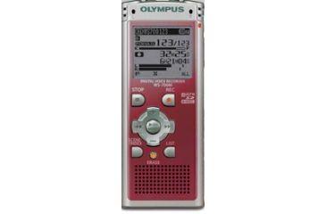 Olympus WS-700M Digital Recorder, Red