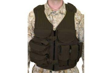 Omega Black Elite Tactical Vest 30EV05BK