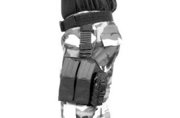BlackHawk OMEGA M-16 (2) W-TF/ FLASHBANG BLACK 561603BK