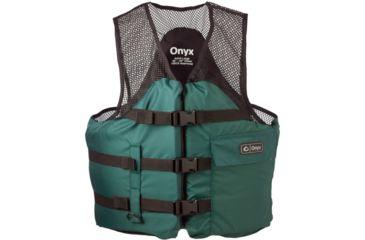 ONYX Mesh Classic Sport Vest, Fishing, M Size for Adult, Foam, Nylon, Hunter Green 93730063