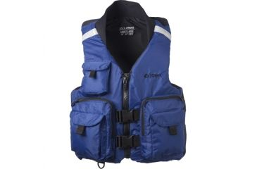 ONYX Pro Caster Vest, XL Size for Adult, Nylon Outershell, Collar, Navy 86650034