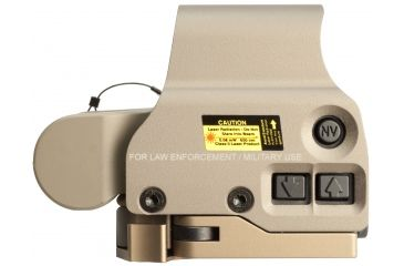 7-EOTech OPMOD MPO II EXPS3-0 Holosight with G23 3X Magnifier - 65 MOA ring and 1 MOA Dot Reticle, Tan