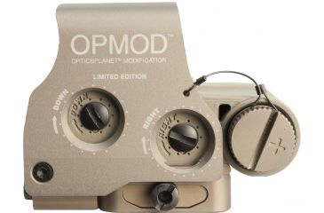 6-EOTech OPMOD MPO II EXPS3-0 Holosight with G23 3X Magnifier - 65 MOA ring and 1 MOA Dot Reticle, Tan