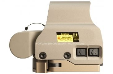 6-EOTech OPMOD MPO III EXPS2-0 Holo Sight with 3x G23 Magnifier - 65 MOA ring and 1MOA dot Reticle, Tan