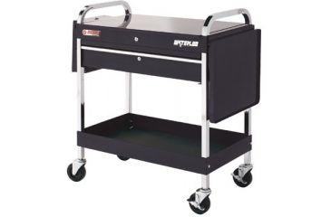 Waterloo 1 Drawer Metal Utility Cart Re 797-UC110RD, Unit EA