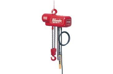 Milwaukee Electric Tools 1 Ton 20 Ft Elec Hoist 495-9568, Unit EA