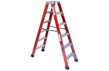 Louisville Ladder 16ft Brute 375 Fiberglasstwin 443-FM1416HD, Unit EA