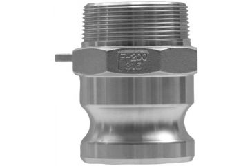 Dixon Valve 6in Alum Global Male Nptx Male 238-G600-F-AL, Unit EA