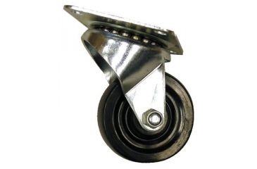 ORS Nasco 3in Hard Rubber Swivel W/brake 5011122786, Unit EA