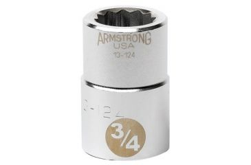 Armstrong Tools 3/4in Dr Socket 2-3/16 Opg 12 069-13-170, Unit EA