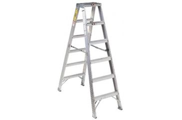 Louisville Ladder 10ftdouble Step Ladderaluminum 443-AM1010, Unit EA