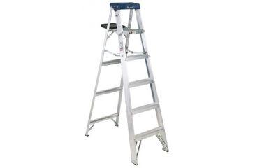 Louisville Ladder 4ft Aluminum Sentry Stepladder 443-AS3004, Unit EA