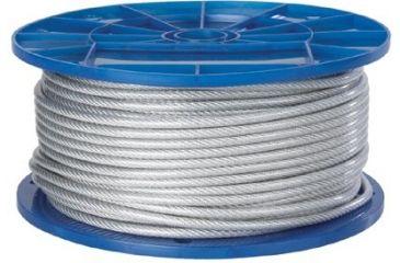 Peerless 3/8in F.c. 6x19 Wire Rope 005-4500205, Unit CS