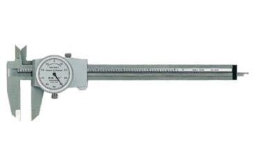 Brown & Sharpe Precision 51775 Dial Calipers 150mm Code 137-599-579-14, Unit EA