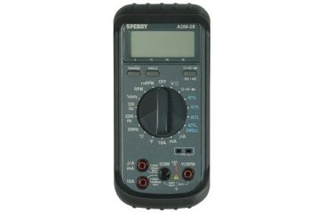 Automotive Digital Multimeter : Sperry instruments automotive digital multimeter adm free