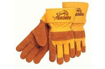 Memphis Glove Bronco Side Leather Palmgloves 127-1680, Unit PK