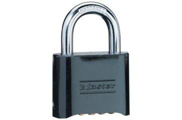 Master Lock Diecast Resettable Padlock 470-178BLK, Unit EA